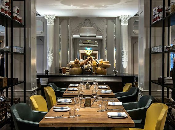 Restaurant space for private hire in Mayfair, London