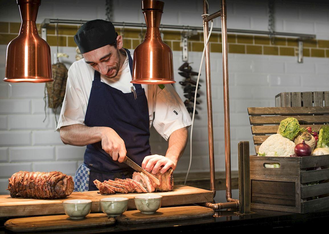 Sunday Roast in Mayfair - Mercante Restaurant