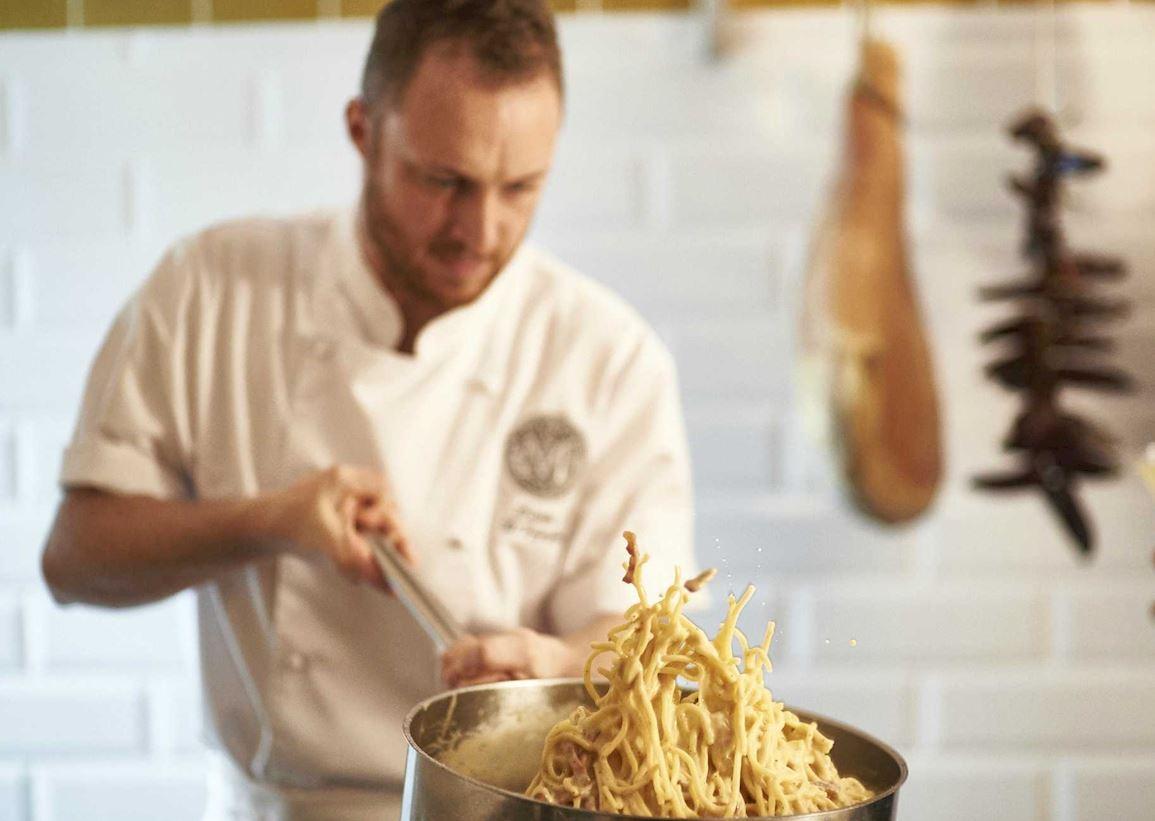 Head Chef Davide D'Ignazio